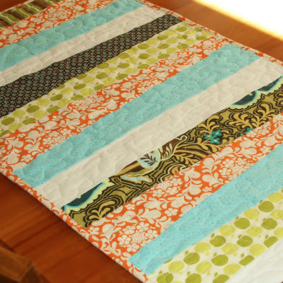 Camera Strap Table Runner Cluck Cluck Sew