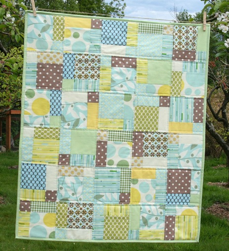 Nicey Jane Disappearing 9 Patch Cluck Cluck Sew