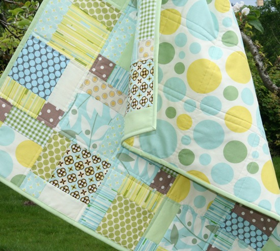 Nicey Jane Disappearing 9 patch | Cluck Cluck Sew : 9 patch baby quilt pattern - Adamdwight.com