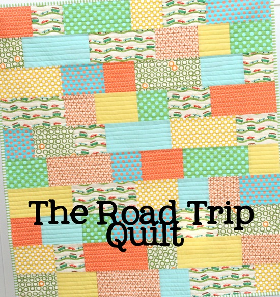 The Road Trip Quilt | Cluck Cluck Sew : road quilt pattern - Adamdwight.com