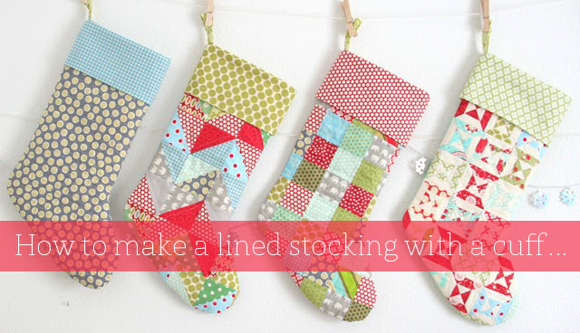 Stocking Tutorial Cluck Cluck Sew Best Christmas Stocking Sewing Pattern