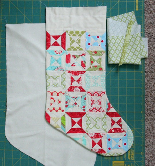 Stocking Tutorial Cluck Cluck Sew Adorable Quilted Christmas Stocking Pattern