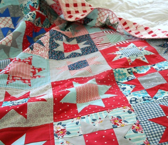 The 14th Of July Quilt Cluck Cluck Sew