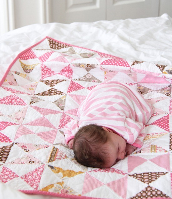 A Pink Classic Quilt Tutorial Cluck Cluck Sew