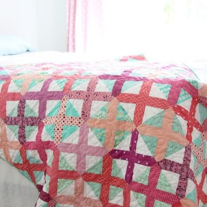 Berry cross stitch quilt on the blog today with ahellip