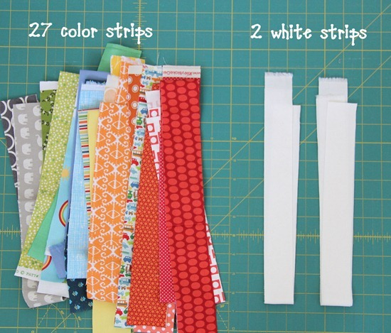 Strip And Flip Baby Quilt Cluck Cluck Sew