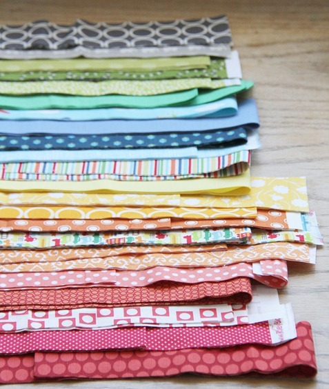 Strip and Flip Baby Quilt | Cluck Cluck Sew : quilting with strips - Adamdwight.com