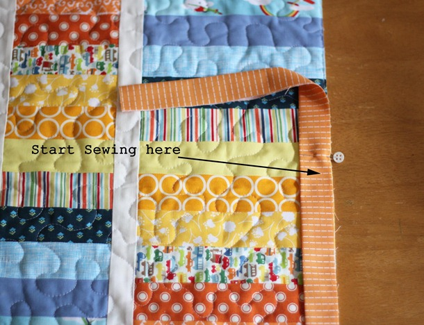 Machine Binding Tutorial Cluck Cluck Sew