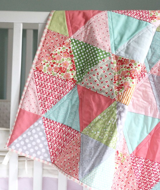 Triangles for alexis cluck cluck sew - Alfombras de patchwork ...