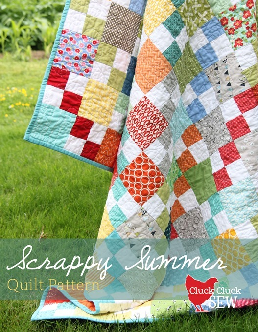 Scrappy Summer Tutorial Cluck Cluck Sew Stunning Quilt Patterns For Free