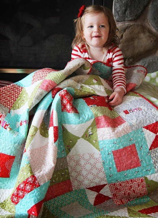 Christmas Quilt, Cluck Cluck Sew_thumb[3]