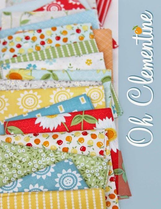 Oh Clementine Fabric