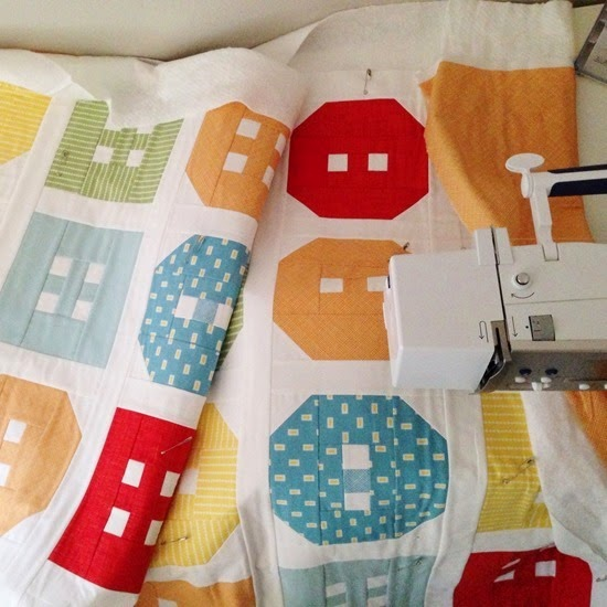 Button Up Crib Quilt