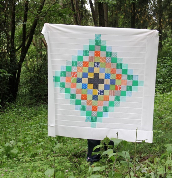 Chippewa Baby Quilt, Cluck Cluck Sew_thumb