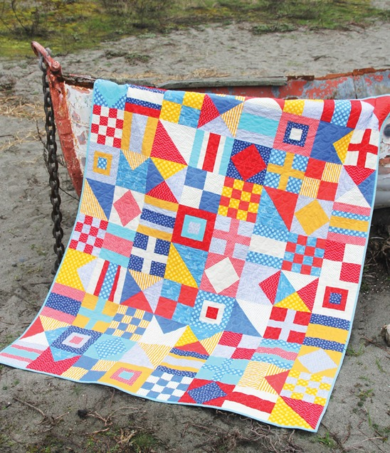 Nautical, Lucky, and Frolic Cluck Cluck Sew