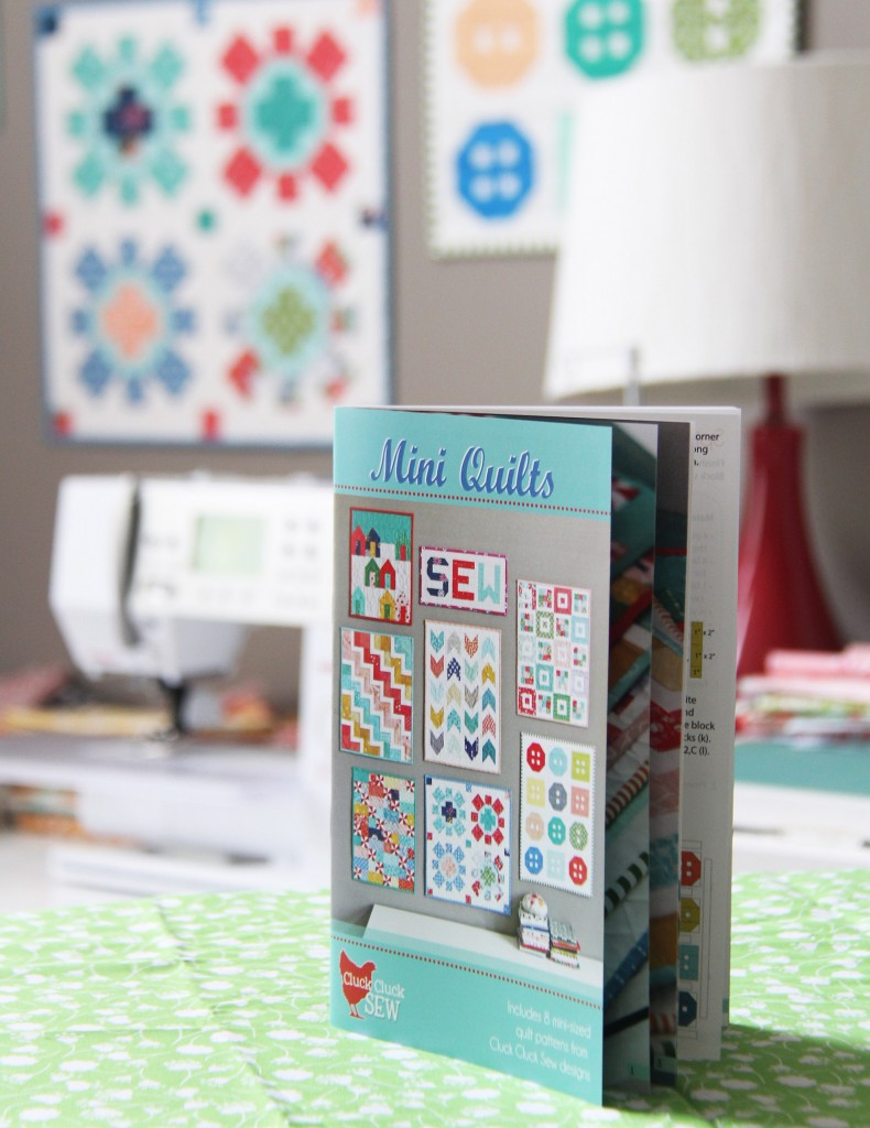 Mini Quilts Pattern Cluck Cluck Sew