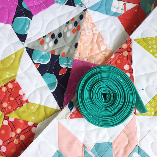 Sparkle Quilt Binding