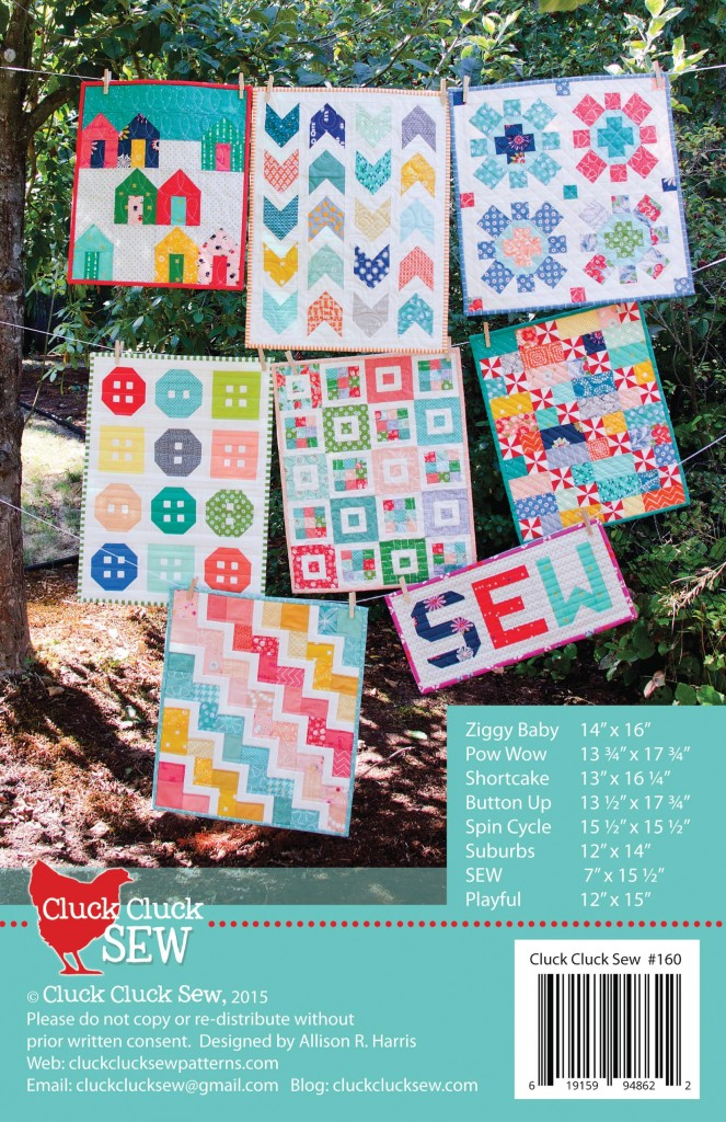 Mini Quilts Back Cover
