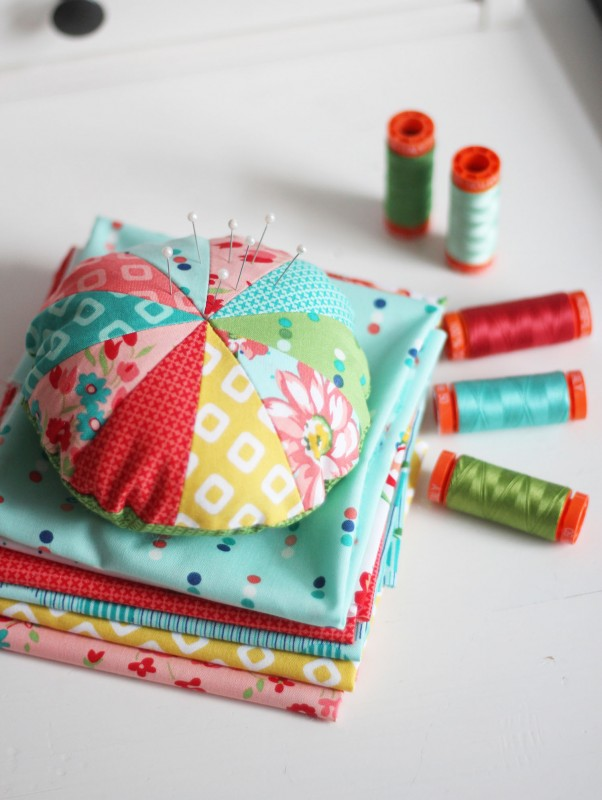 Sprocket Pincushion Tutorial, Cluck Cluck Sew