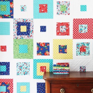 Skipping Squares in Dixie fabric on the blog today8230and thehellip