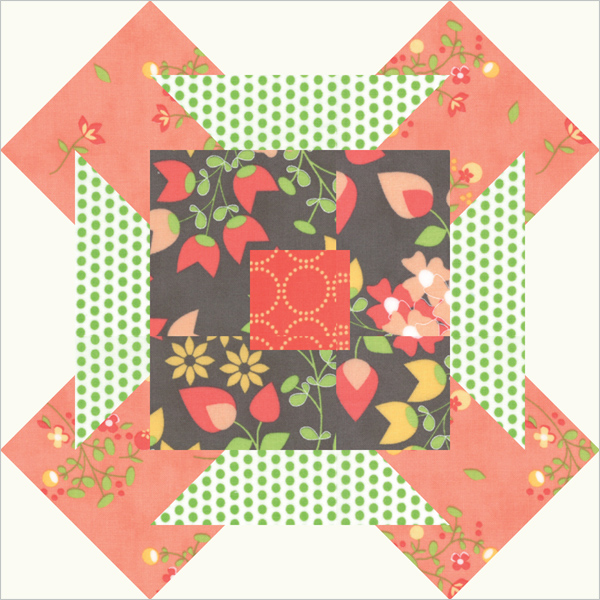 Summer Sampler Block Sundrops