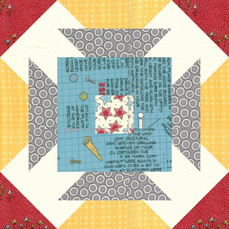 Summer Sampler Block Treehouse