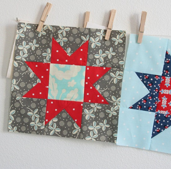 July Star block tutorial