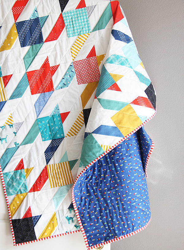 Summer Houndstooth Quilt