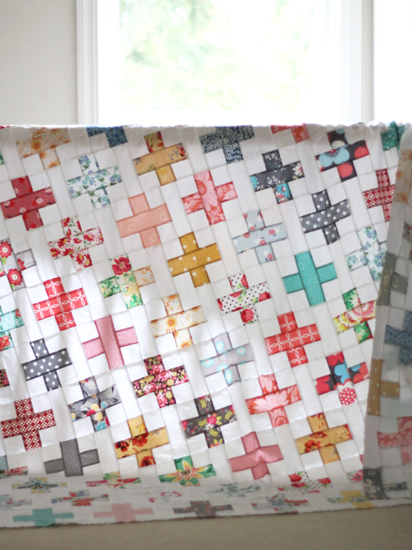 All the Florals, Simple Addition Quilt Pattern