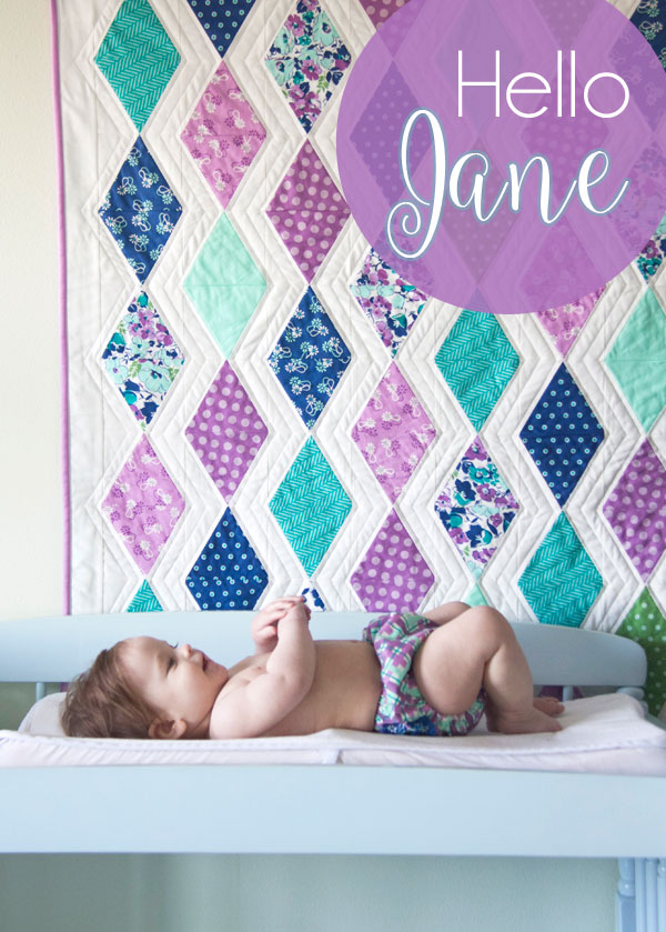 Hello Jane for Windham Fabrics, Cascade Quilt