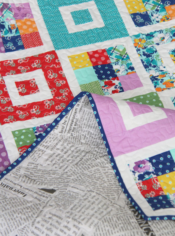 Shortcake Quilt, Jelly Roll Friendly