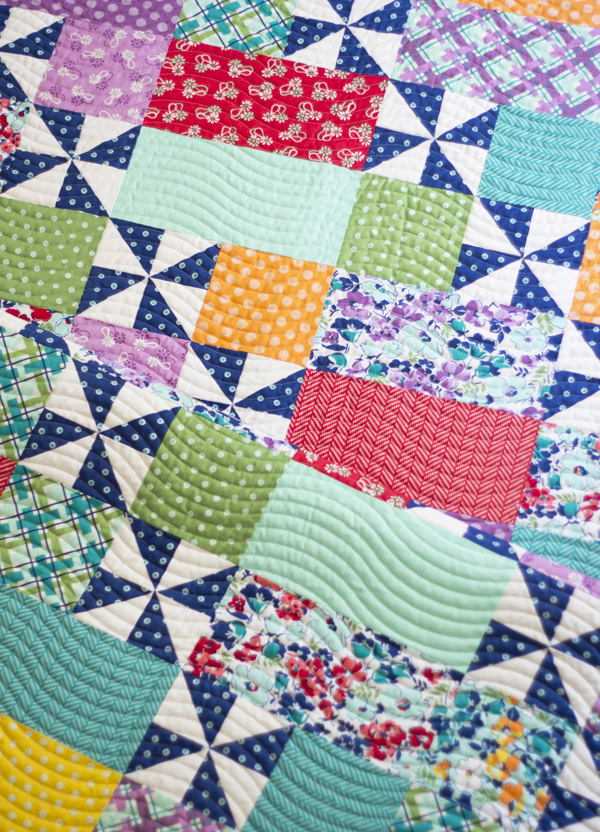 Playful 2 Pattern in Hello Jane fabrics