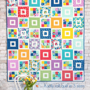 Shortcake Quilt Pattern, Jelly Roll Quilt