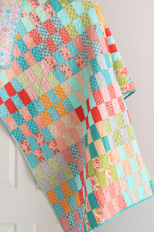 Free Jelly Roll Quilt Tutorial