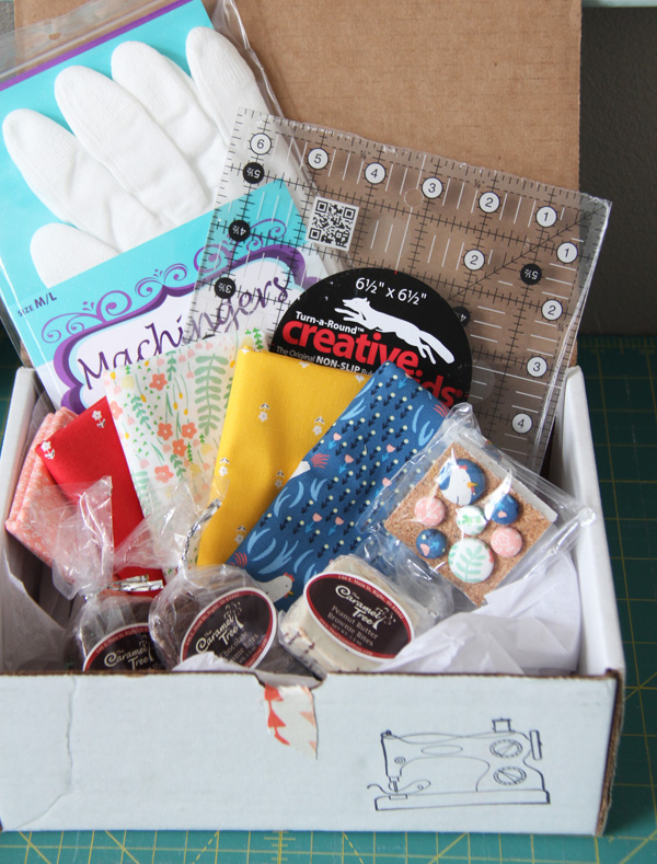 Quilters Candy Box April