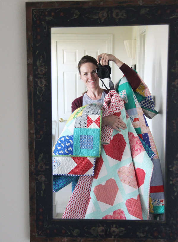 All the Hearts Quilt Finished | Cluck Cluck Sew : popular quilting blogs - Adamdwight.com