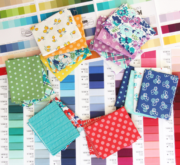 Hello Jane for Windham Fabrics coordinating solids