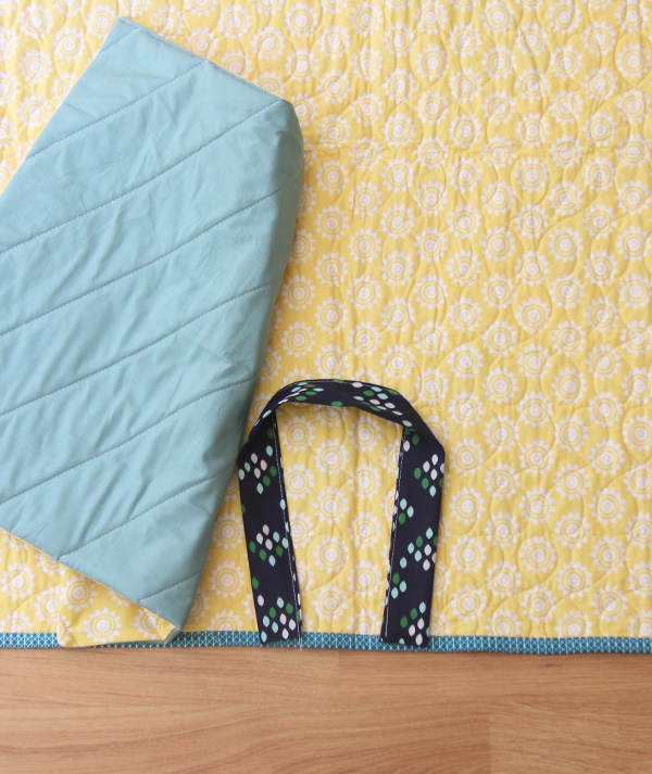 How to Make a Quilt into a Quillow | Cluck Cluck Sew