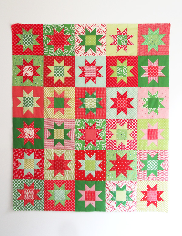 Christmas Stars with Free Pattern
