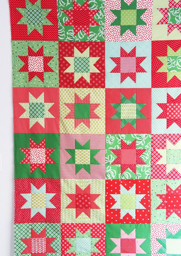 No Point Stars, a Free Printable Pattern in 5 sizes