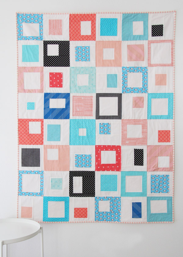 Easy Stack, Cut, and Sew quilt Tutorial