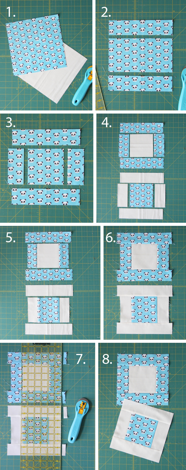 Easy Stack, Cut, and Sew Blocks Tutorial