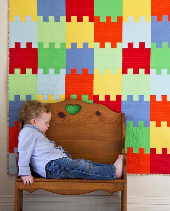 Blocks Quilt, from the book Growing Up Modern
