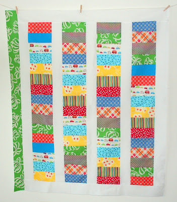 Coin Baby Quilt