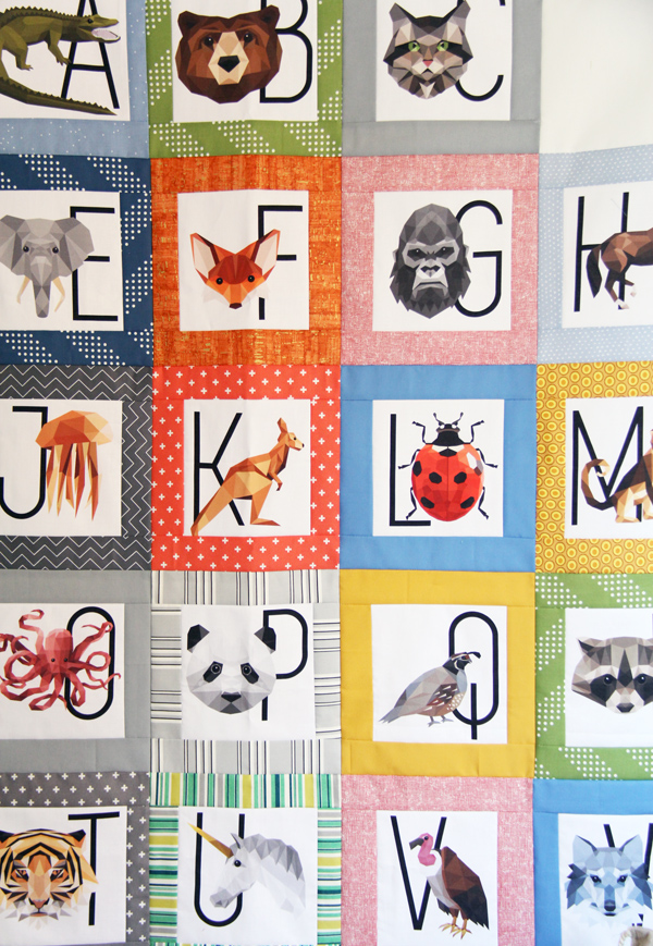 Zookeeper Prism ABC Quilt