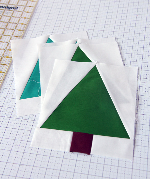 Free Tree Quilt Block Pattern