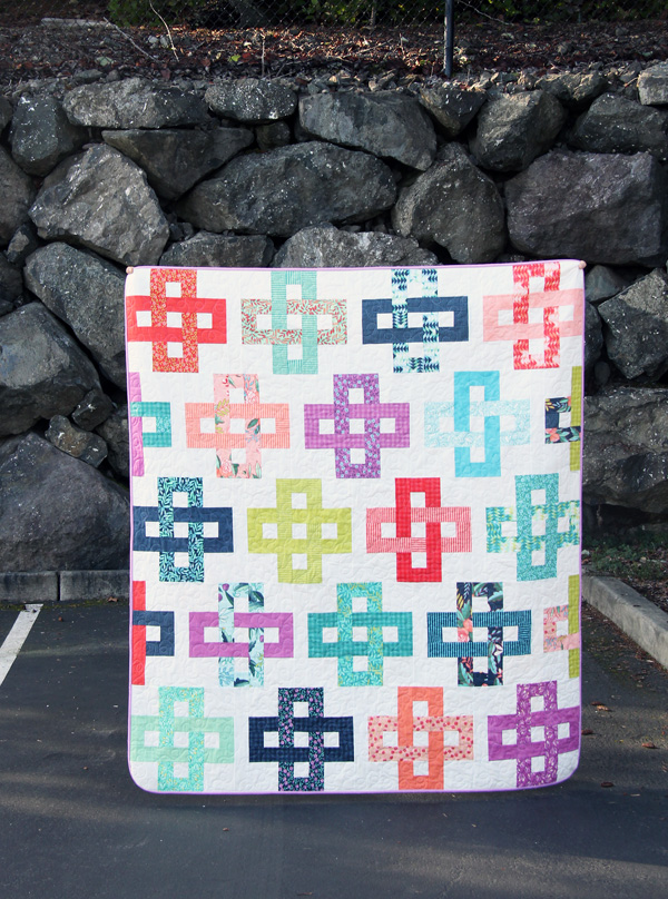 Simplify Quilt Pattern, Jelly Roll Friendly