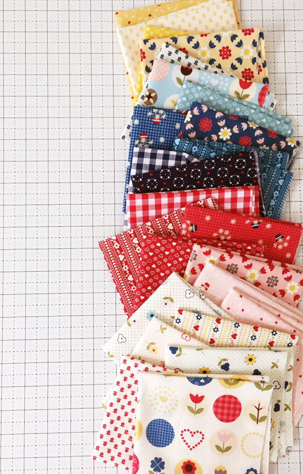 Fat Quarter Friday Pattern in Gretel Fabrics