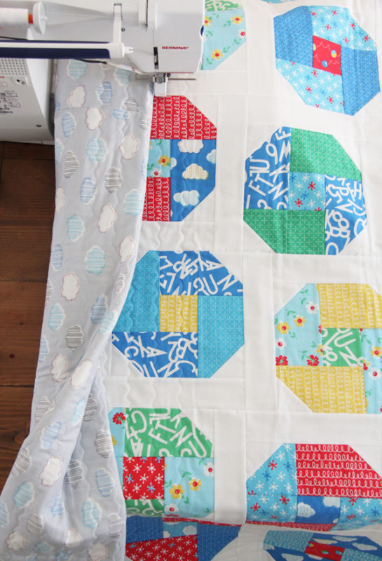 Layer Cake Bounce, a Layer Cake or Fat Quarter pattern in 5 sizes