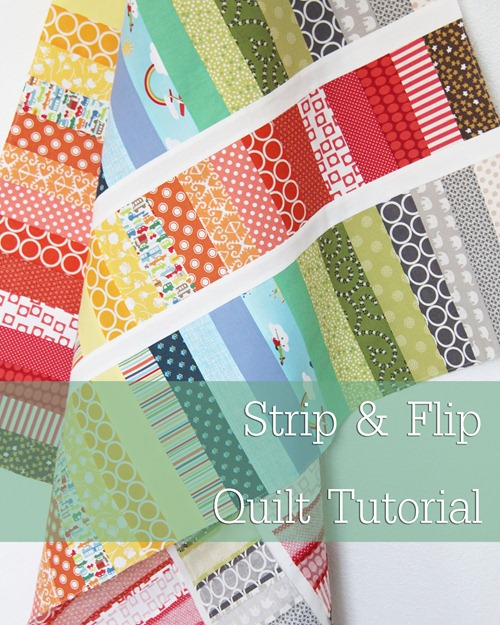 image about Baby Quilt Patterns Free Printable known as Strip and Switch Kid Quilt Cluck Cluck Sew